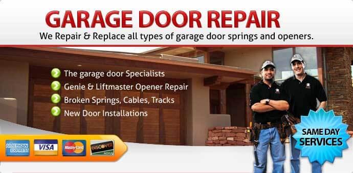 Garage door repair Corona Ca